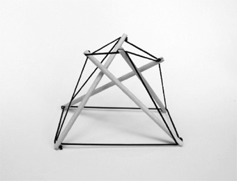 four-fold tensegrity prism