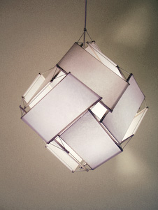 floating lampshade