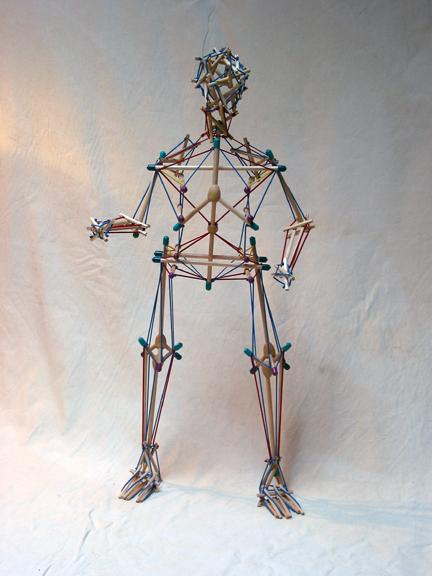 Tensegrity Skeleton